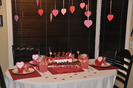 تزیین میز شام سالگرد ازدواج , ایده برای جشن سالگرد ازدواج