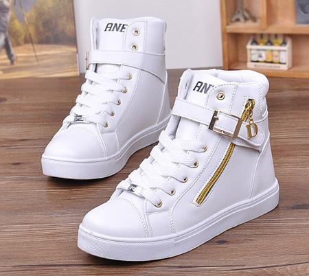 مدل کفش دخترانه, کتانی دخترانه سفید