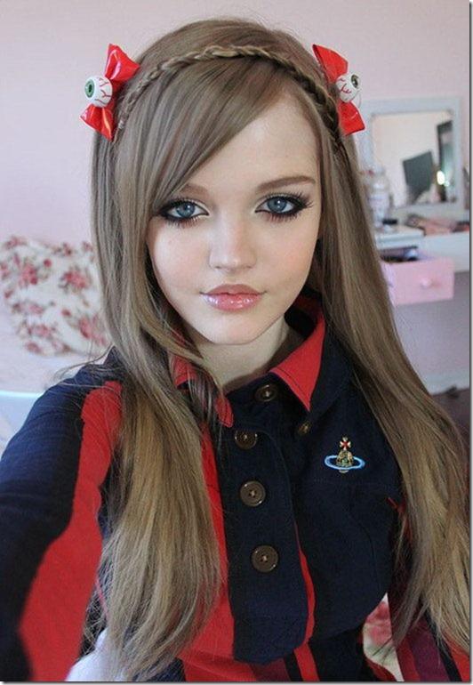 تصاویر زیباترین دختر 16 ساله جهان معروف به باربی
