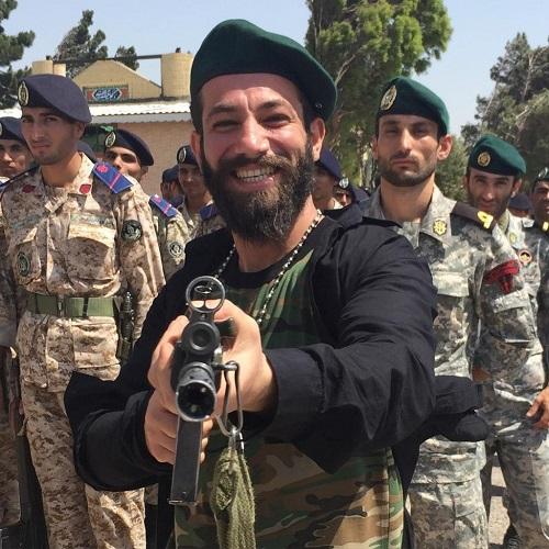 امیرتتلو در پشت صحنه موزیک ویدئو خلیج فارس