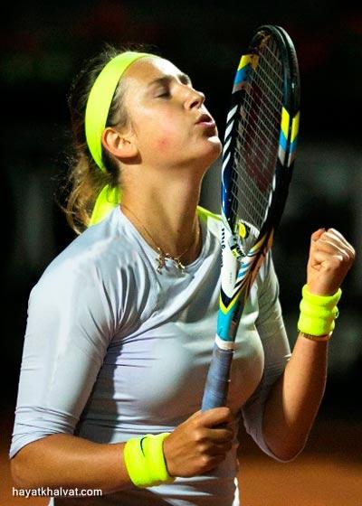 عکسهایی از ویکتوریا آزارنکا تنیسور مشهور بلاروس