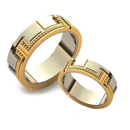 جدیدترین حلقه های نامزدی ,مدل حلقه طلا سفید و زرد
