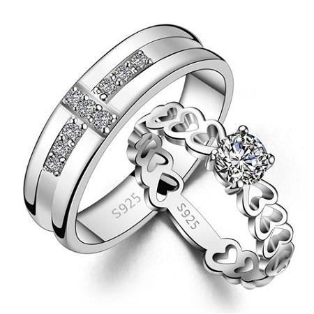 مدل حلقه ازدواج برلیان , حلقه ازدواج ست