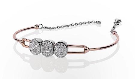 مدل های دستبند طلا سفید