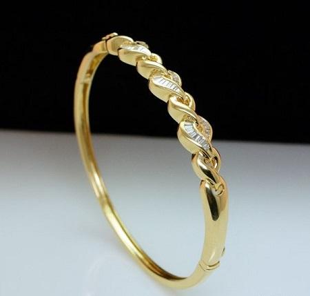دستبند طلا جدید