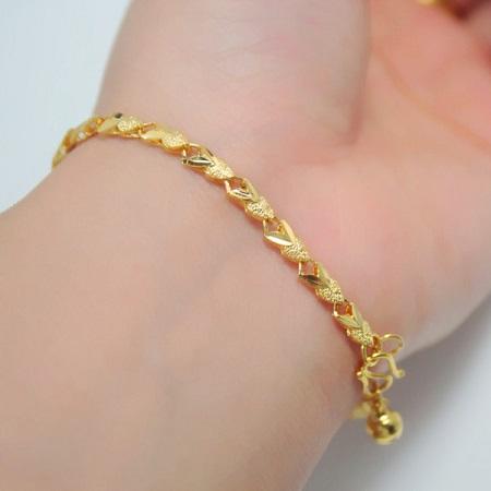 مدل های دستبند طلا ظریف دخترانه