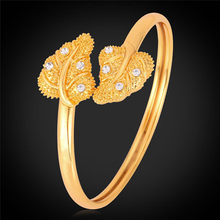 دستبند طلا زنانه شیک