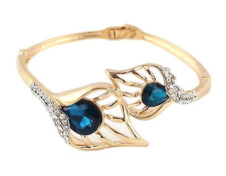 مدل های دستبند طلا و سنگ