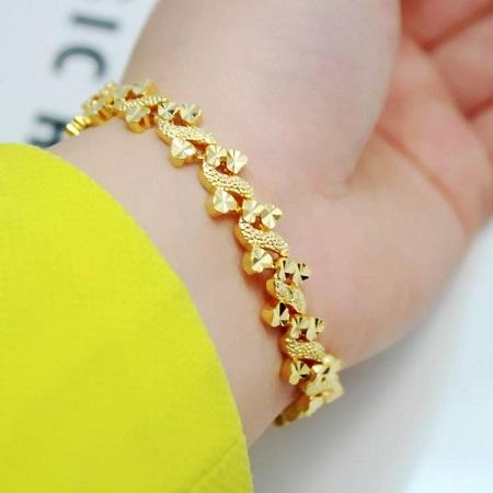 مدل های دستبند طلا زرد , جدیدترین مدل های دستبند طلا