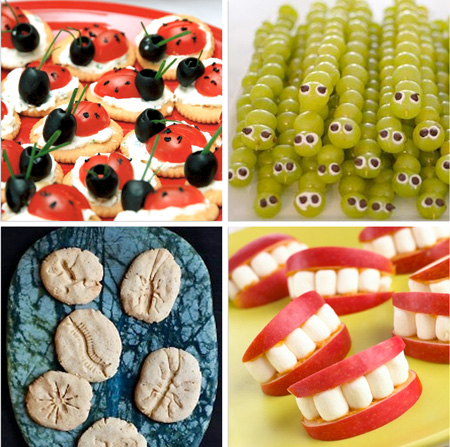تزیینات خوراکی ها و دیزاین جشن تولد