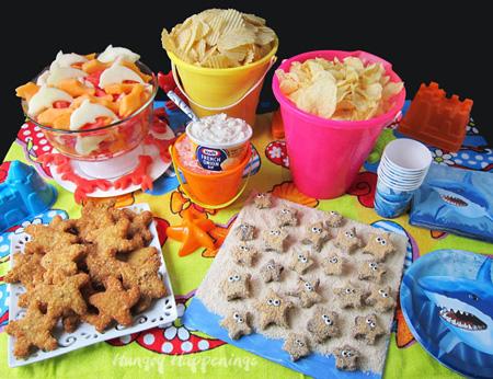 تزیینات زیبای خوراکی های جشن تولد