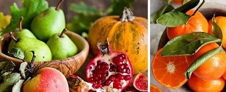 میوه های پاییزی , مراقبت از پوست