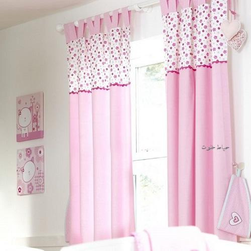 مدل پرده اتاق خواب برای سیسمونی , سیسمونی دخترانه
