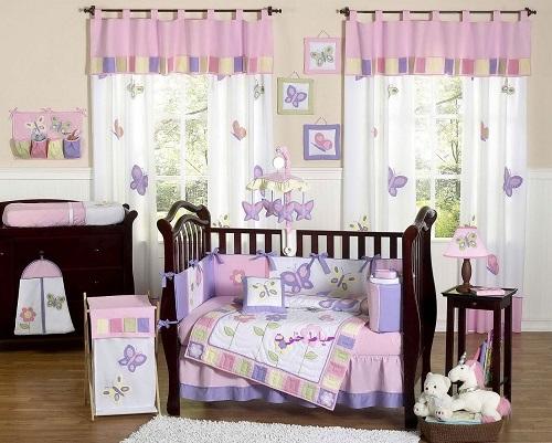 مدل پرده اتاق کودک جدید , پرده اتاق کودک برای سیسمونی