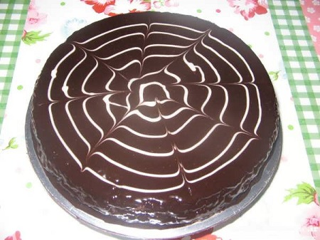 گاناش کشی کیک