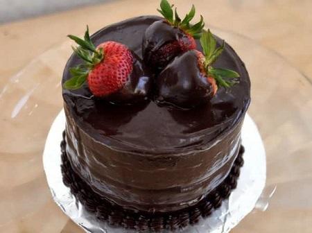 تزیین کیک ساده در منزل