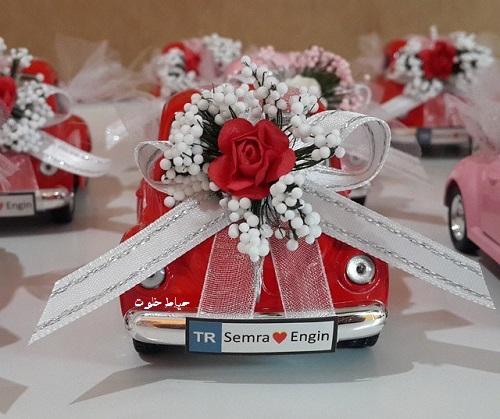 گیف عروسی ماشین عروس , گیفت عروسی فانتزی , جدیدترین مدل های گیفت عروسی