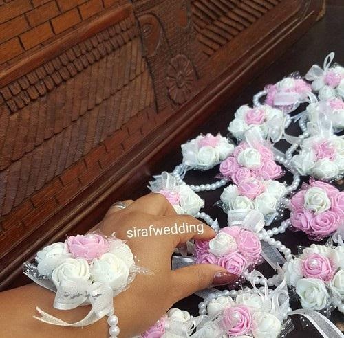 گیفت عروسی دستبند , گیفت نامزدی دست ساز, مدل های گیفت عروسی جدید