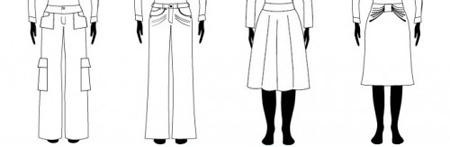 چه لباسی به اندامهای مستطیلی و صاف می آید؟