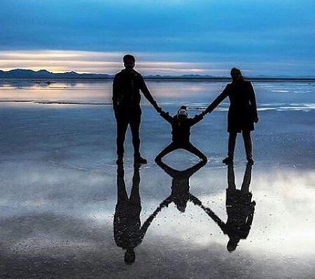 دریاچه مخرگه | شگفت انگیزترین آینه طبیعی در ایران