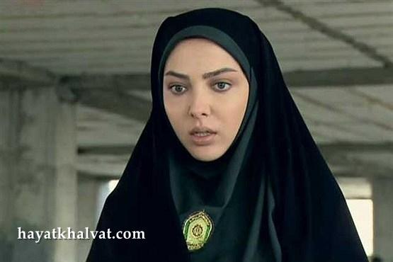 لیلا اوتادی در نقش پلیس