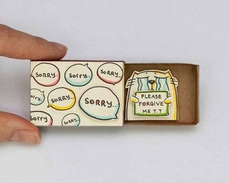 کارت تبریکهای جالب با استفاده از جعبه کبریت