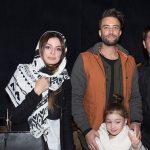 عکس های بنیامین بهادری به همراه همسرش شایلی