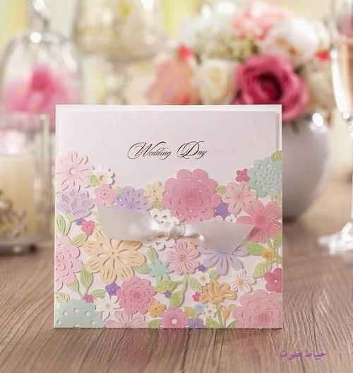 مدل کارت عروسی مجلسی , کارت عروسی خاص