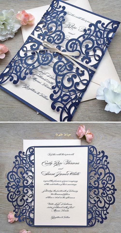کارت عروسی ساده و شیک , جدیدترین مدل های کارت عروسی