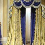 مدل پرده سلطنتی سالن پذیرایی
