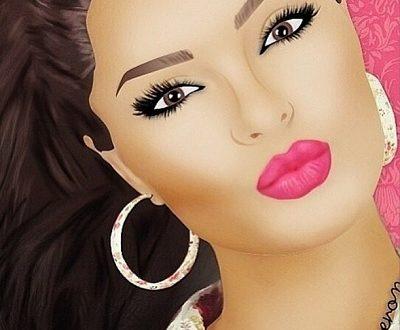 زیباترین عکس های نقاشی شده دخترانه برای پروفایل(سری چهارم)