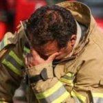 بی قراری دختر ۴ ساله آتش نشان مفقود پلاسکو