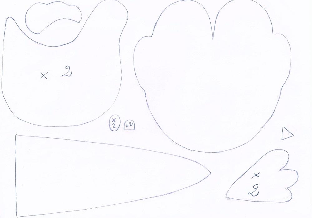 خروس نمدی هفت سین ۹۶