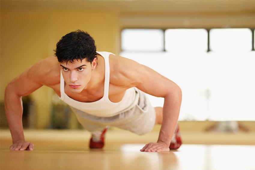 تاثیر حرکت پوش آپ در کاهش وزن و لاغری