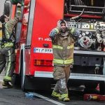 تصاویر اشک و اندوه آتش نشانان قهرمان حادثه پلاسکو