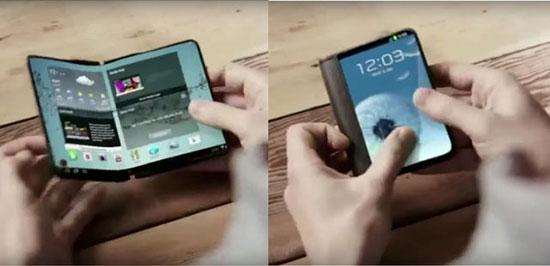 سال 2017 آغاز رونمایی از گوشی های تاشو