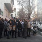واکنش و تعجب مردم تهران به شلیک پدافند هوایی به شی ناشناس + عکس