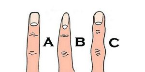 ویژگی های شخصیتی افراد از روی شکل انگشتان دست