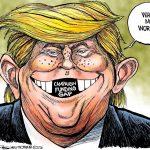 کاریکاتورهای جالب ترامپ رییس جمهور آمریکا