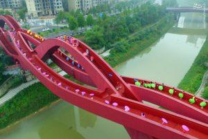 لاکی نات؛یکی از شگفت انگیزترین پل های جهان