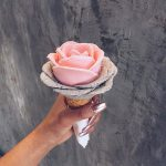 بستنی های زیبا و خلاقانه به شکل گل