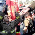 فوری: شهادت ۳۰ تن از آتش نشانان شجاع تهران در ساختمان پلاسکو