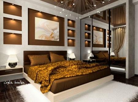 مدل چیدمان اتاق خواب عروس