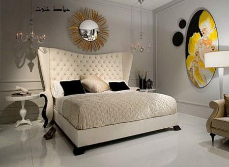 تخت های شیک اتاق خواب عروس