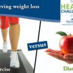 رژیم غذایی بگیریم یا ورزش کنیم؟