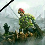 اس ام اس مخصوص آتش نشانان فداکار حادثه پلاسکو