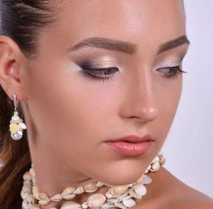 مدل آرایش صورت شیک اروپایی