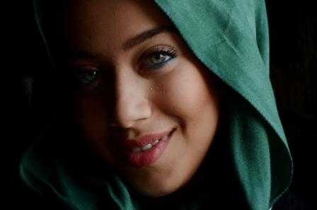 عکسهای سعیده رودبارکی بازیگر نقش الهه در سریال آرام میگیریم