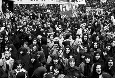 نقش زنان در پیروزی انقلاب اسلامی