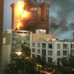 در هنگام آتش سوزی چه باید کرد ؟